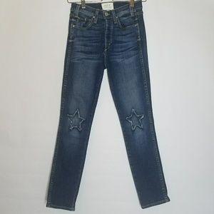 McGuire Denim Vintage Stars Mid-Rise Ankle Jeans